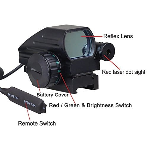 Ledsniper-Useful-Tactical-Holographic-Reflex-Red-Green-Dot-Scope-4-Reticle-Red-Laser-Sight-0-0