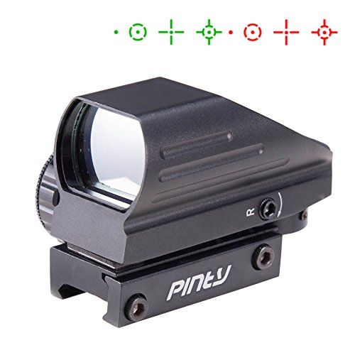 Pinty Red & Green Reflex Holographic Rifle scope Dot Sight