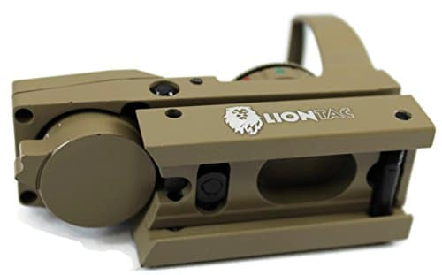 Red-Dot-Sight-Reflex-Green-Holographic-Scope-Tactical-Rifle-Mount-20mm-Rails-Tan-0-5
