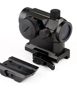 MGS-Military-Gear-ABB-Tactical-Mini-Micro-Reflex-Dot-Scope-Sight-with-QD-Quick-Riser-Mount-Red-0