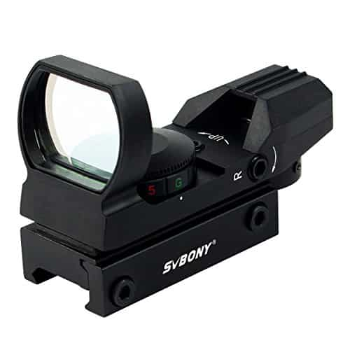 SVBONY-Green-and-Red-Dot-Sight-for-Reflex-Sight-Tactical-Reflex-with-4-Reticles-and-5-Levels-of-Brightness-Hd-Night-Sights-Black-0-3