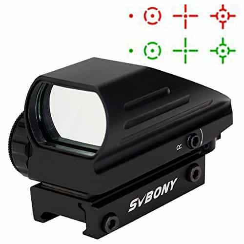 SVBONY-Red-and-Green-Dot-Sight-4-Reticle-Reflex-Holographic-Sights-Reflex-Optical-Sight-Scope-33mm-Lens-for-20mm-Rail-Mount-with-Allen-Wrenches-0-1