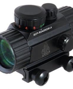 UTG-38-ITA-RedGreen-CQB-Dot-Sight-with-Integral-Mount-0-1