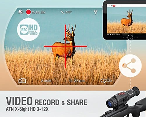 ATN-X-Sight-3-12-Smart-Riflescope-w1080p-Video-Night-Mode-WiFi-GPS-Image-Stabilization-IOS-and-Android-Apps-0-0