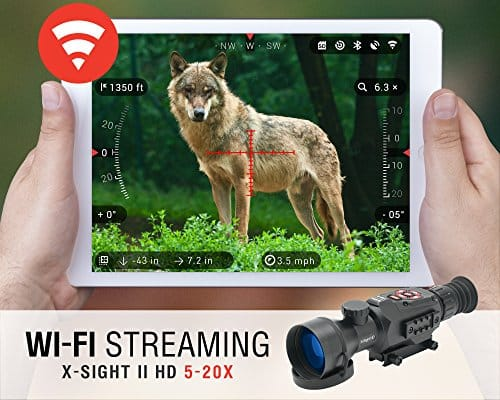 ATN-X-Sight-II-5-20-Smart-Riflescope-w1080p-Video-WiFi-GPS-Image-Stabilization-Range-Finder-Shooting-Solution-and-IOS-and-Android-Apps-0-2
